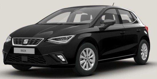 Seat Ibiza Xcellence 1.0 TSI mit 95 PS im Privat Leasing ab 132€ mtl.   LF: 0,57