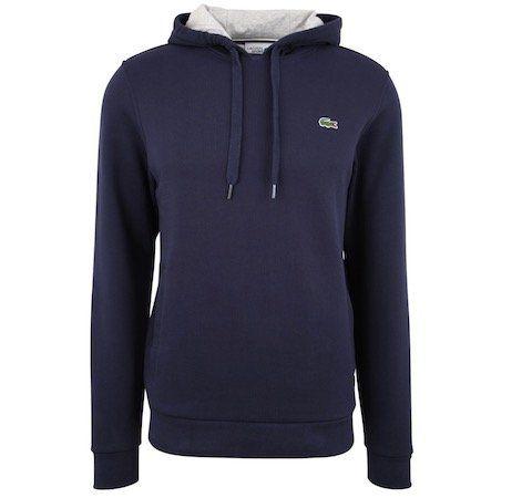 Lacoste Sweatshirt aus Fleece mit Kapuze für 59,85€ (statt 73€)