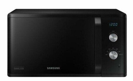 Samsung MS23K3614AK   schwarze Mikrowelle mit 23 Litern für 89,99€(statt 107€)
