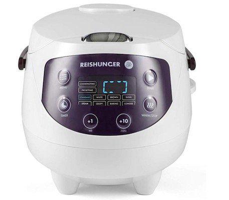 Reishunger Mini Reiskocher mit Premium Innentopf + 8 Programmen für 79,99€ (statt 100€)