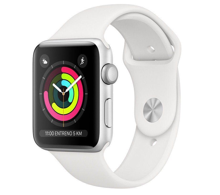 Apple Watch Series 3 GPS Silver 42mm für 188,99€ (statt 250€)   B Ware