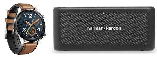 Huawei Watch GT Classic + harman/kardon Lautsprecher für 49,95€ + o2 Flat mit 4GB LTE für 9,99€mtl.