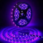 10 Meter GLIME UV Schwarzlicht LED Streifen für 16,19€ (statt 27€) – Prime