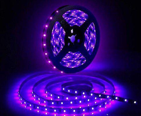 10 Meter GLIME UV Schwarzlicht LED Streifen für 17,39€ (statt 29€)   Prime