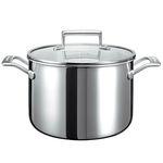 KitchenAid Koch- und Suppentopf (KC2T80SCST) 24 cm mit Deckel für 65,90€ (statt 95€)