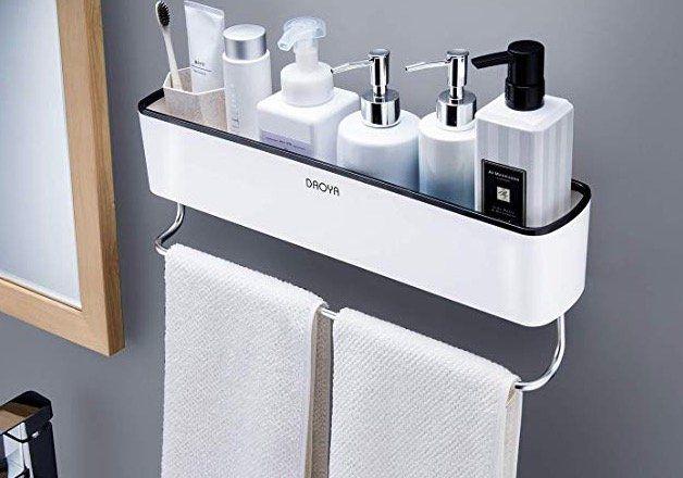 Ruicer Duschkorb mit Handtuchhalter für 15,94€ (statt 29€)   Prime
