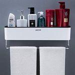 Ruicer Duschkorb mit Handtuchhalter für 15,94€ (statt 29€) – Prime