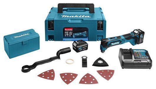 Makita TM30DSMJX4 Akku Multitool (10,8 V) + 2x Akkus für 165,90€ (statt 195€)