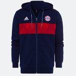 FC Bayern Fan-Shop Sale + 10€ Gutschein ab 50€ – z.B. adidas Lifestyle Zip-Hoodie für 47,41€ (statt 70€)