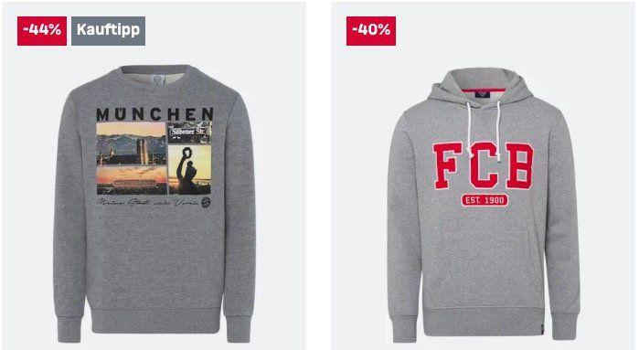 FC Bayern Fan Shop Sale + 10€ Gutschein ab 50€   z.B. adidas Lifestyle Zip Hoodie für 47,41€ (statt 70€)