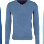 Tom Tailor Herren Basic V-Neck Sweater aus 100% Baumwolle für 17,99€ (statt 25€)