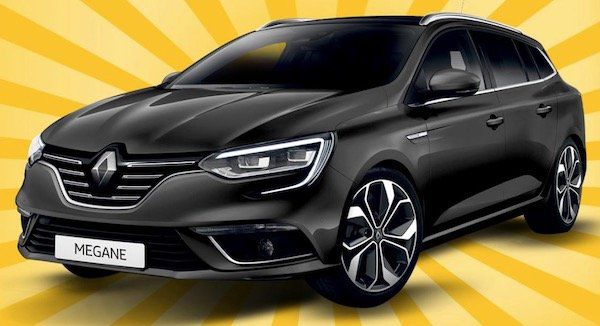 Renault Megane Kombi Life TCe 115 GPF im Gewerbe Leasing für 63€ mtl. brutto   LF: 0,34