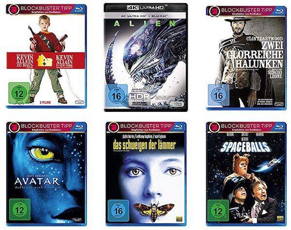 Amazon: Filme & Boxsets für 150€ kaufen + 75€ Rabatt erhalten   auch 4k Blu rays dabei