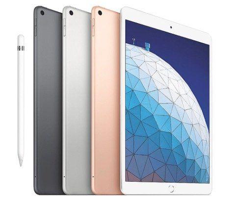 Apple iPad Air 2019 in 10,5 in allen Farben mit 256GB, WiFi + 4G für 679,14€ (statt 749€)