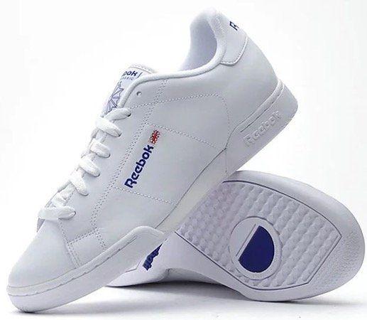 Reebok Npc II 1354 White Lowcut Leder Sneaker für 44,80€ (statt 53€)