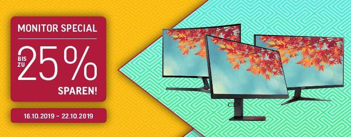 NBB: Monitor Special mit bis zu  25%   z.B. Acer Predator Z35P für 599€(statt 735€)