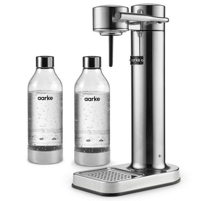 Aarke Carbonator II Design Wassersprudler + 2 Flaschen für 135,90€ (statt 150€)