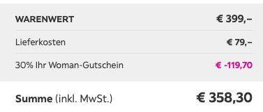 Boxspringbett Lucy (180x200cm) inkl. Topper ab 279,30€ (vorher 399€) – mit Lieferung 358,30€
