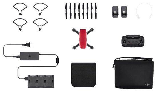 Ausverkauft! DJI Spark Drohne mit Fly More Combo in drei Farben für 399€ (statt 654€)