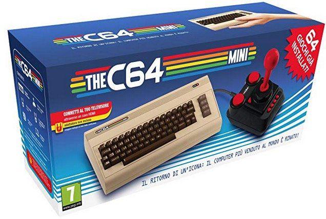 Ausverkauft! The C64 Mini Konsole mit 64 Spielen für 24,50€ (statt 44€)