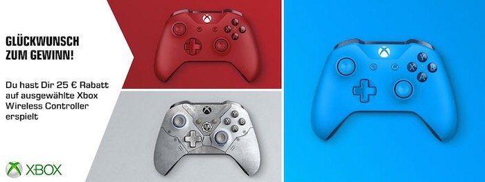 Xbox Wireless Controller in vielen Designs je 39,99€   durch Gutschein