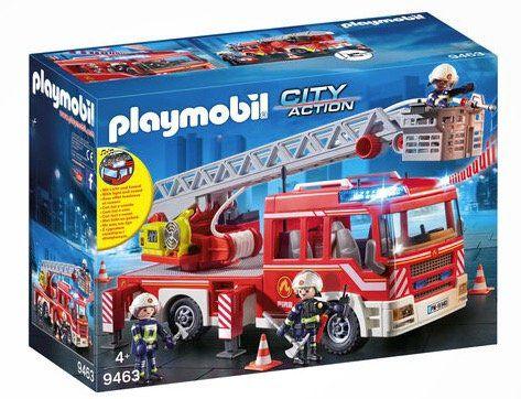 Playmobil City Action   Feuerwehr Leiterfahrzeug (9463) ab 40,49€ (statt 50€)