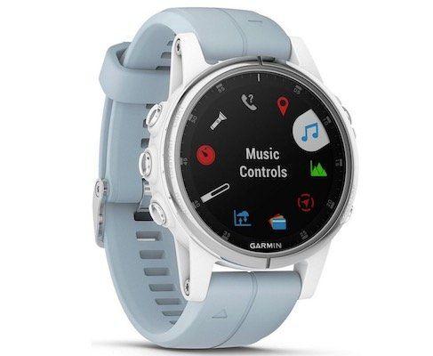 Garmin Fenix 5S Plus GPS Multisport Smartwatch mit Seafoam Armband für 399€(statt 512€)
