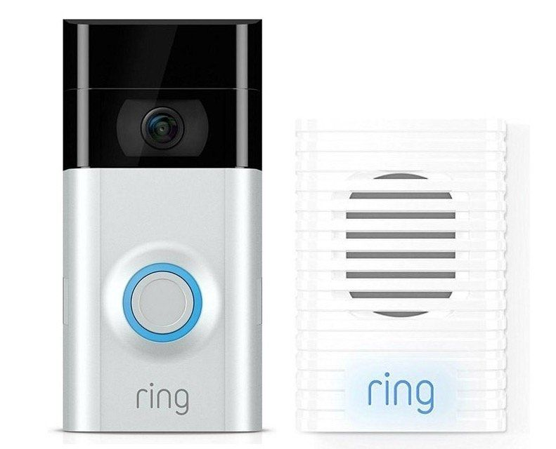 Ring Video Doorbell 2 + Chime Türgong für 174€ (statt 209€)