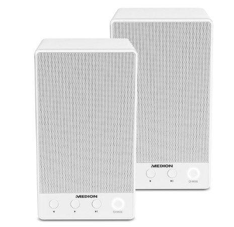 2er Pack Medion P61084 WLAN Multiroom Lautsprecher für 39,95€ (statt 80€)