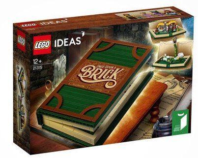 Ausverkauft! LEGO Ideas   Pop Up Buch (21315) für 54,94€(statt 67€)