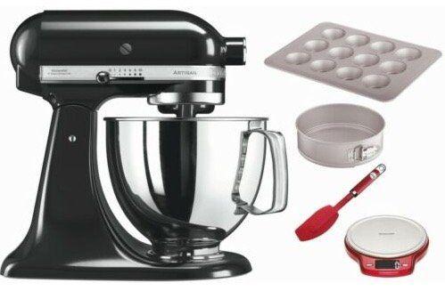 KitchenAid 5KSM125EBSOB Küchenmaschine inkl. Baking Set für 339,99€ (statt 436€)