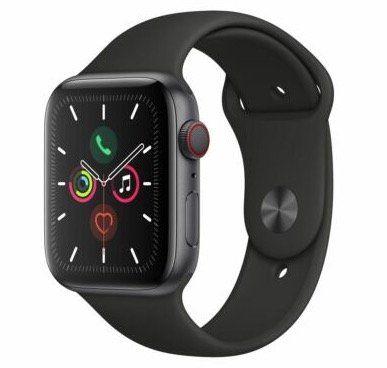 Vorbei! Apple Watch Series 5 GPS + LTE 44mm in Spacegrau mit Aluminiumgehäuse für 500,99€ (statt 544€)