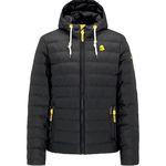 Schmuddelwedda Herren Winterjacke in Schwarz/Gelb für 127,46€ (statt 150€)