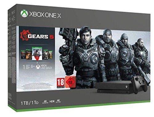 Ausverkauft! Xbox One X 1TB Gears 5 Bundle für 288€ (statt 343€)   und andere Bundles
