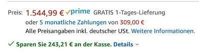 Vorbei! Apple iPhone 11 Pro mit 512GB in Nachtgrün für 1.301,78€ (statt 1.470€)