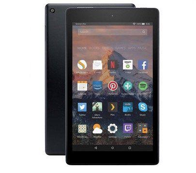 Amazon Fire HD 8 Tablet mit 16GB (2018) für 49,99€ (statt 65€)