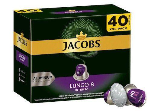 200er Pack Jacobs Kaffeekapseln für Nespresso Maschinen für 32,95€