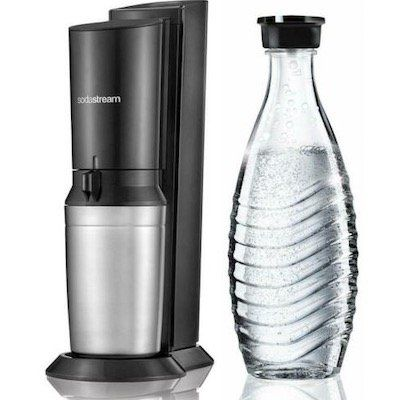 SodaStream Crystal 2.0 Umsteiger Set mit Glas Karaffe für 75,65€