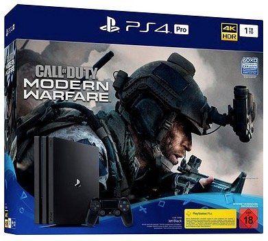 PlayStation 4 Pro + Call of Duty Modern Warfare für 311€ (statt 355€)