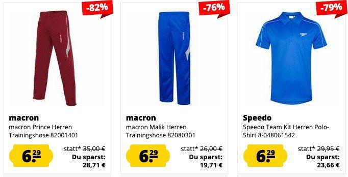 Halloween Sale bei Sportspar mit Produkten bis 95% reduziert ab 2,24€ + Sparclub Members mit Extra Rabatt