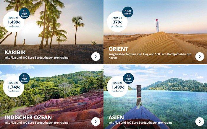 🚢 AIDA Winterreisen Spezial z.B. 7 Tage Kanaren & Madeira ab 1.298€ für 2 Personen inkl. Flüge