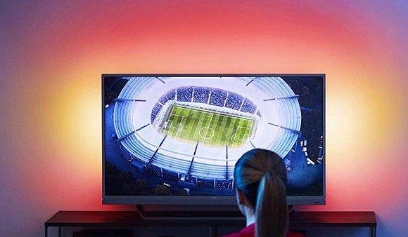 UltraHD Philips 49 Fernseher mit 3seitigem Ambilight für 410,74€ (statt 606€)   aus DE für 465,99€
