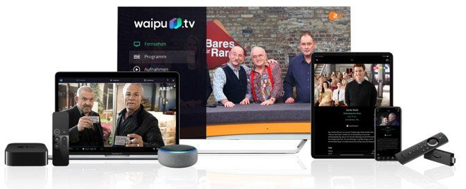 12 Monate waipu.tv Streaming Perfect inkl. Amazon Fire TV Stick für 79,92€ (statt 152€)