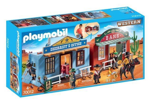 Playmobil (70012) Mitnehm Westerncity für 18,95€ (statt 26€)