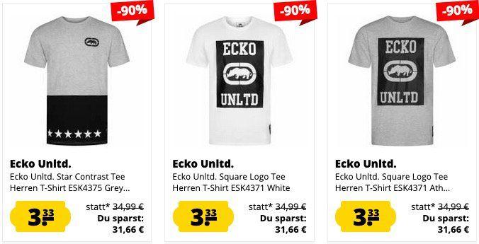 SportSpar: Ecko Unltd. Sale   Shirts und Pullover ab 3,33€ + VSK