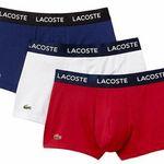 LACOSTE 3er Sets Boxershorts in verschiedenen Designs & Größen für 29,90€ (statt 40€)
