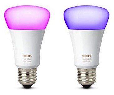 2er Pack Philips Hue White and Color Ambiance LED E27 für 69,89€ (statt 100€)