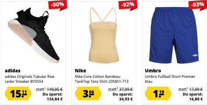🔥 SportSpar mit bis zu 95% Rabatt auf viele Klamotten   z.B. Tokyo Laundry Polo Shirt für 3,40€ (statt 16€)