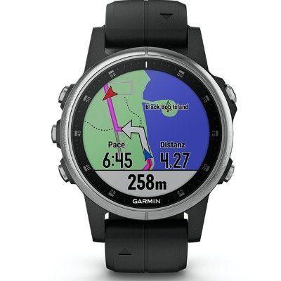 Garmin Fenix 5S Plus GPS Multisport Smartwatch mit Seafoam Armband für 369,95€(statt 400€)