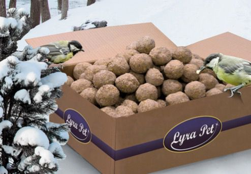 200er Pack Lyra Pet Meisenknödel ohne Netz (je 90g) für 15,99€ (statt 21€)